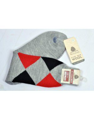Pure Wool Socks Diamond Machine Washable P3