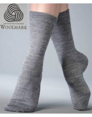 Pure Wool Socks Plain P6