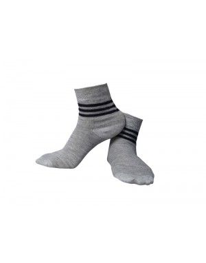 Pure Wool Anklet Socks Womens Skin