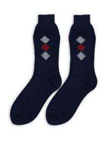 Pure Wool Socks Square Design