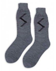 Pure Wool Socks Zig Zag P3