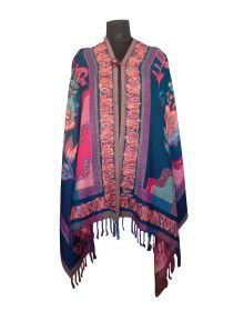 Full Printed designer shrug Multi Colors