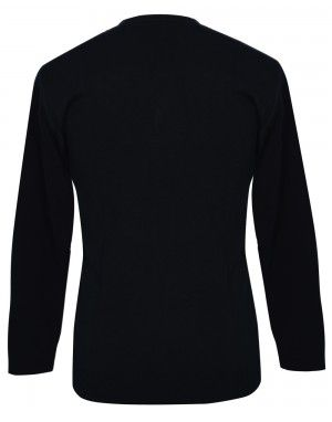 Men Wool Blend V Neck Designer Sweater