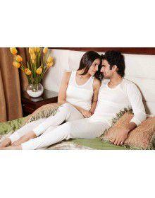 Mens and Women Merino Wool Thermals Set