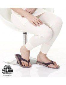 Women Merino Wool Drawer Body warmers Cream