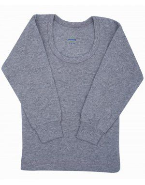 Kids Vest FS Thermal Grey with Lycra