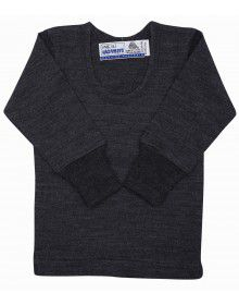Baby Merino Wool FS Thermals Dark Grey