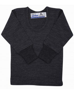Kids Merino Wool FS Thermals Dark Grey