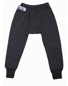 Kids Merino Wool Long John Dark Grey