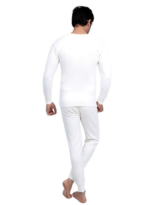 Men FS Cotton Body warmers Set White