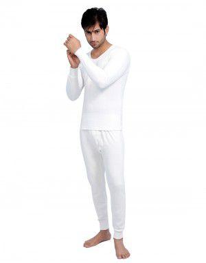 Men FS Cotton Body warmers Set White