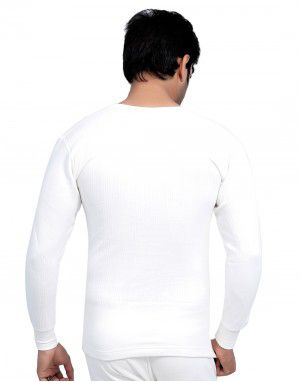 Men plus size FS Cotton Body Warmers White