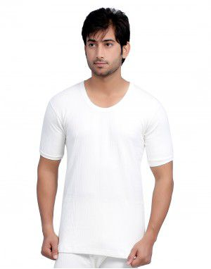 Men Cotton Vest HS Body warmers White