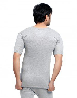 Men Spandex HS Themal Body warmers Grey with Lycra
