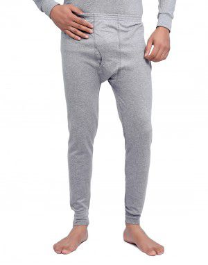 Men Spandex Long John Grey with Lycra