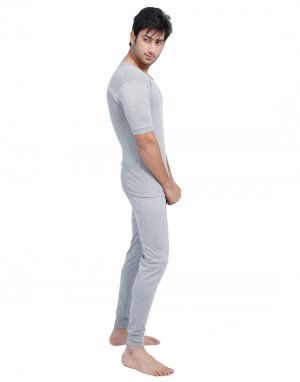 Men HS Spandex Body warmers Set Grey with Lycra