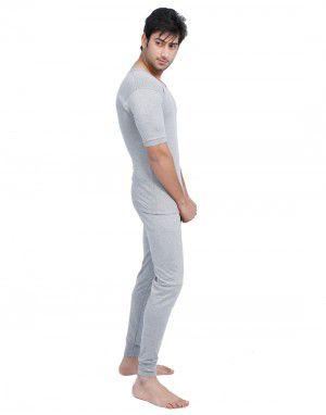 Men HS Spandex Body warmers Set Grey with Lycra