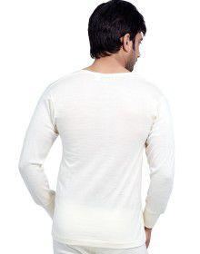 Mens Merino Wool Vest FS Body warmers Cream