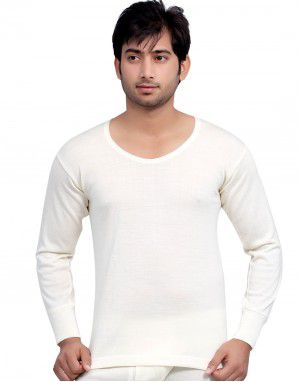 Mens Merino Wool Vest FS Body warmer Cream in Wholesale