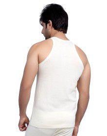 Mens Merino Wool Vest SL Body warmers Cream