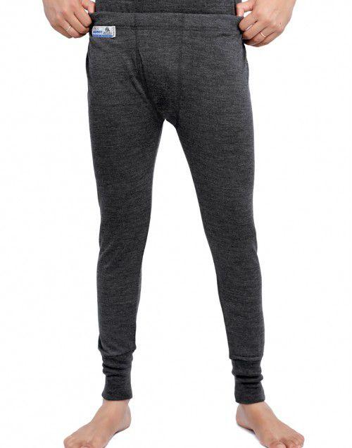 Merino Wool Mens Long John Dark Grey in wholesale