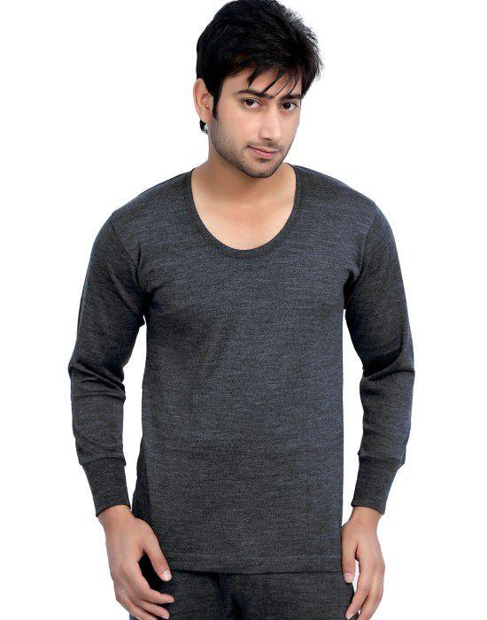 Mens merino wool FS Vest Dark Grey