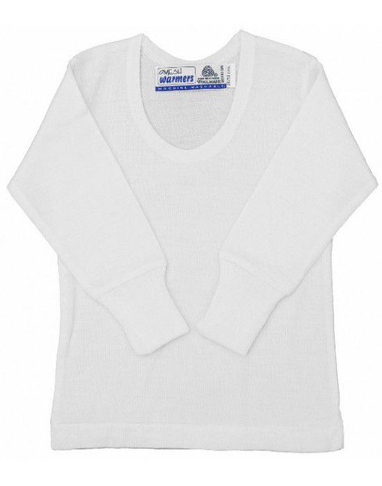 Toddlers Merino Wool Vest FSBody warmers Cream