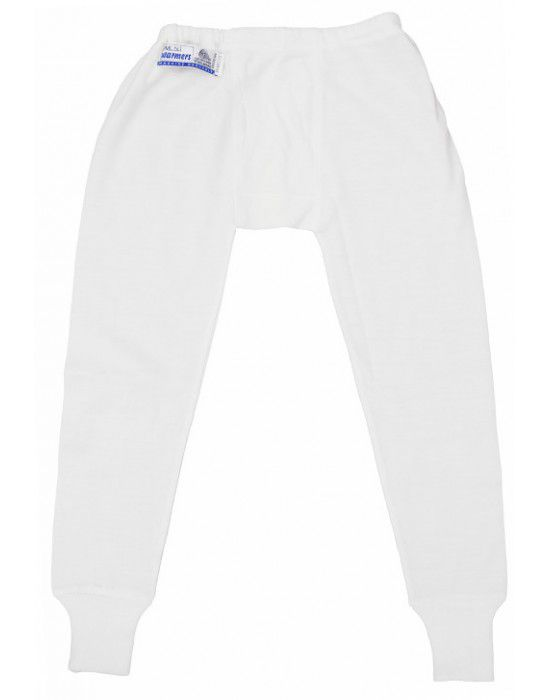 Toddlers Merino Wool Long John Cream