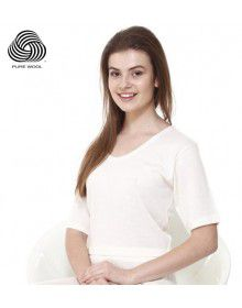 Women Plus Size Merino Wool HS Blouse Thermal