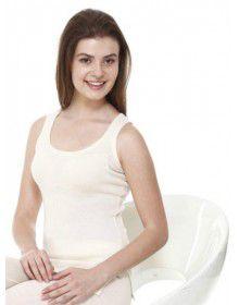 Women Merino Wool SL Slip Type Thermal Cream