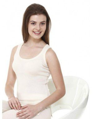 Women Merino Wool SL Slip Type Thermal Cream