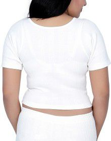 Woman Cotton warmer HS Blouse Type White