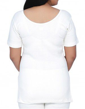 Woman Cotton warmer HS Slip Type White