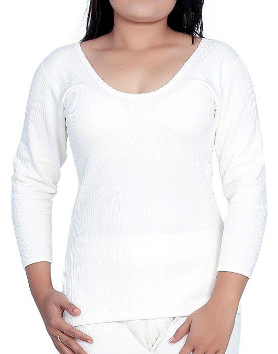 Woman Cotton warmer FS Slip Type White