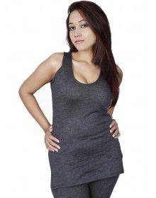 Women Merino wool SL Slip Type Thermal Dark Grey