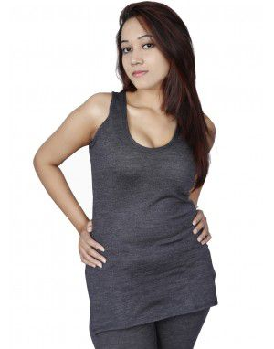 Women Merino wool SL Slip Type Thermal Dark Grey