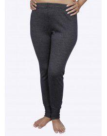 Women Merino wool Drawer Thermal Dark Grey