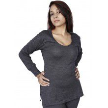 Women Merino wool FS Slip Type Thermal Dark Grey