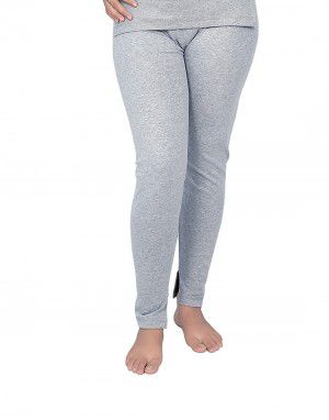 Woman Spandex Drawer Thermal  Grey
