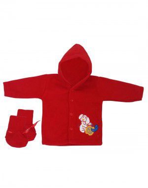 Baba Suit Cartoon Design Red