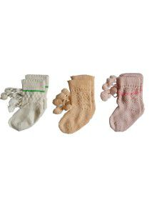 Pack of 3 Baby acrylic socks