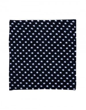 Winter Blanket for Infants stars blue colour