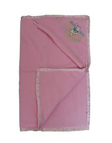 Winter Blankets for Infants With hood Baby pink
