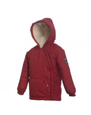Kids unisex winter jacket Wine