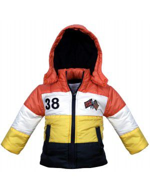 Quilted Jacket Multi for Toddlers