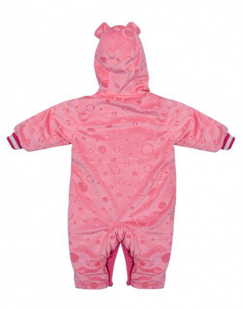 Toddlers Front Open Single Piece Suit Peach Color