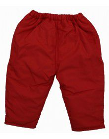 Baby Hooded Two Piece Suit 1 Red