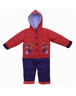Baby Hooded Two Piece Suit 3