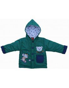 Baby Hooded Two Piece Suit 4 Green