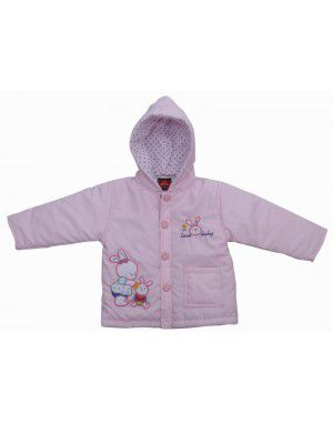 Baby Hooded Two Piece Suit 6 Light Pink